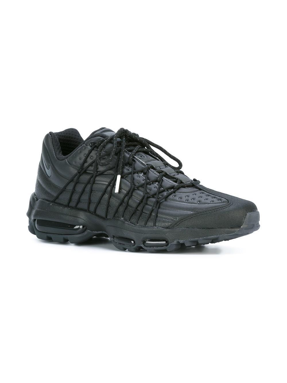 nike air max 95 ultra jcrd scarpe in nero per gli uomini lyst