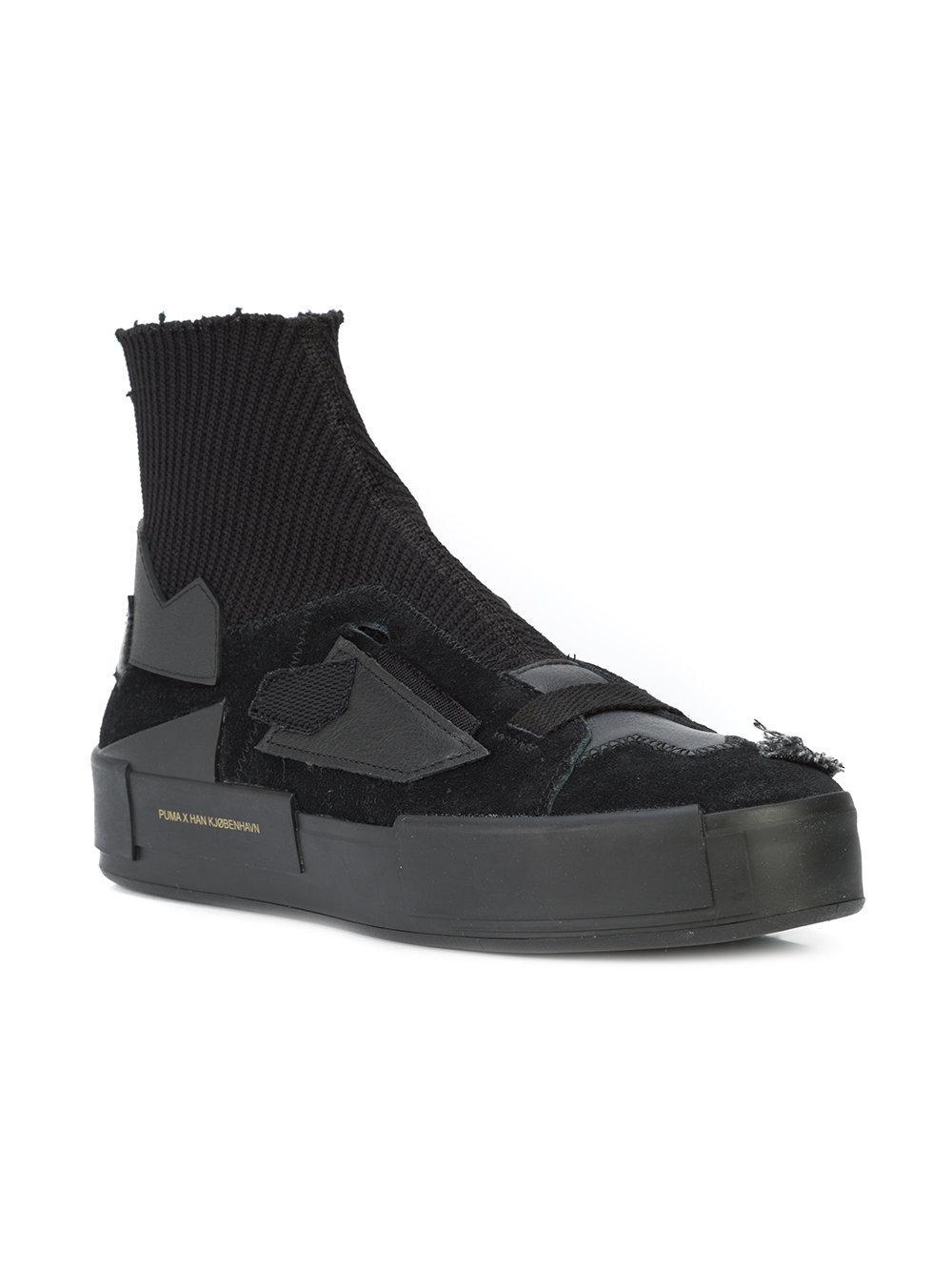 Court Platform Han Hi top Sneakers