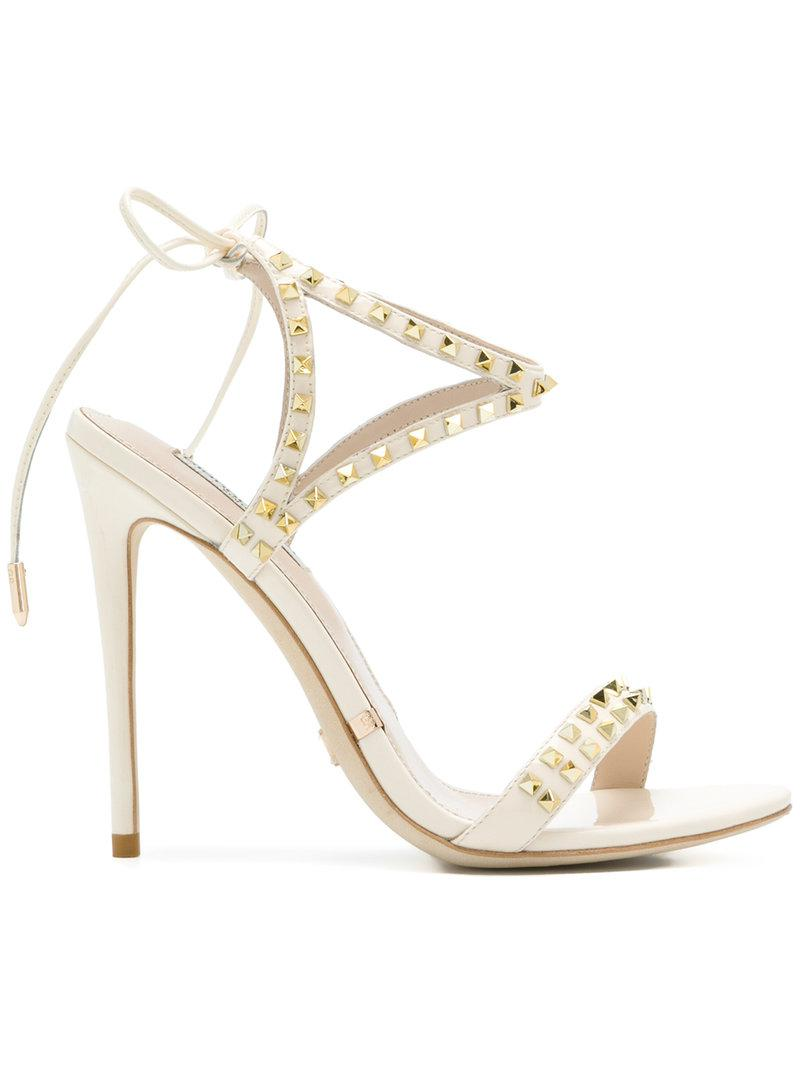 studded open-toe sandals - Nude & Neutrals Gianni Renzi Couture L5IRAw0a