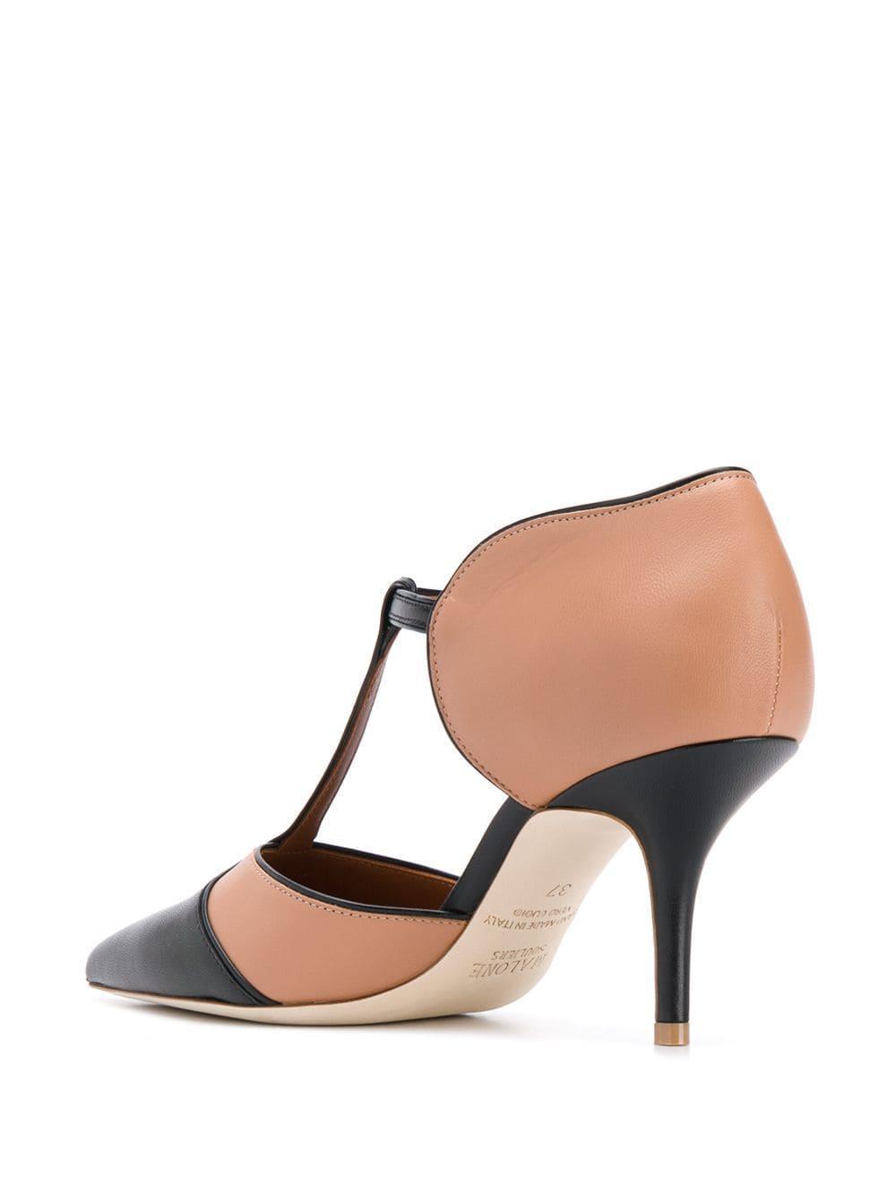 Zapatos de tacón Sadie Malone Souliers de Cuero de color Marrón