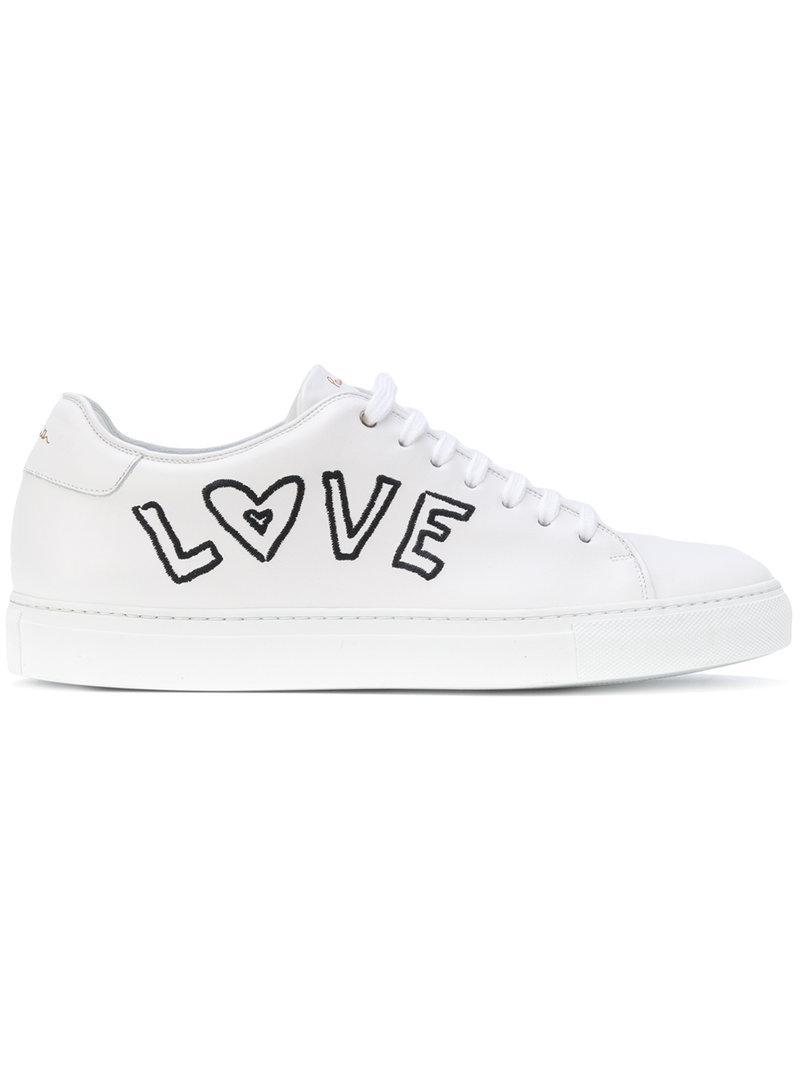Lyst - Baskets Love Paul Smith pour homme en coloris Blanc 3229c9715d28