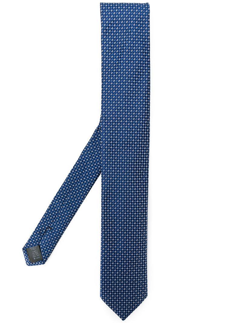 geometric patterned tie - Blue Dolce & Gabbana h7J75
