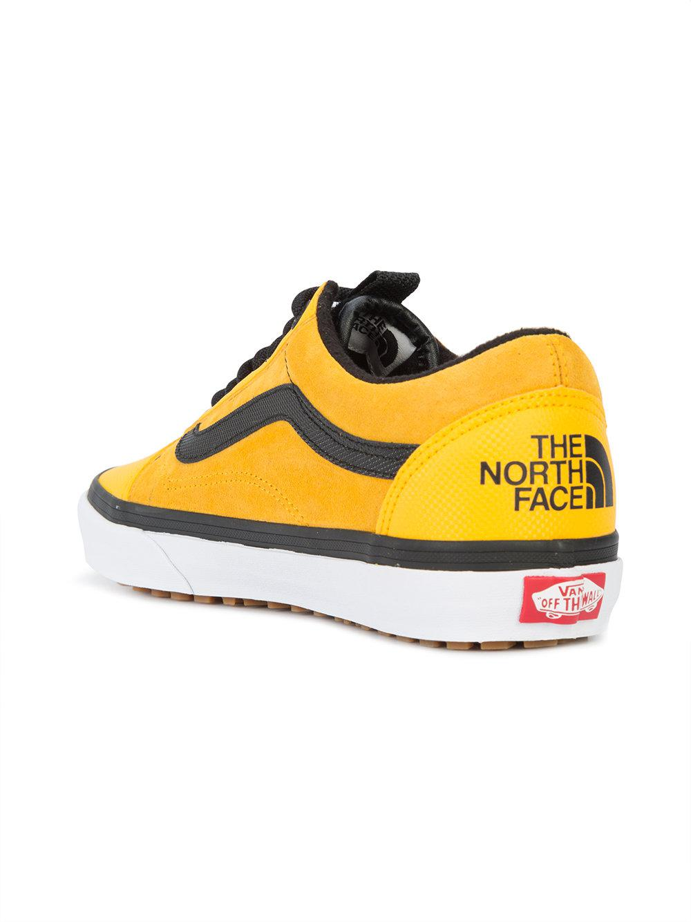 beb61c50a18 Vans X The North Face Old Skool Mte Dx Sneakers in Yellow for Men - Lyst