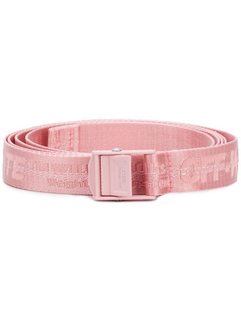510d5c3f9c87 Lyst - Off-White c o Virgil Abloh Industrial Belt in Pink