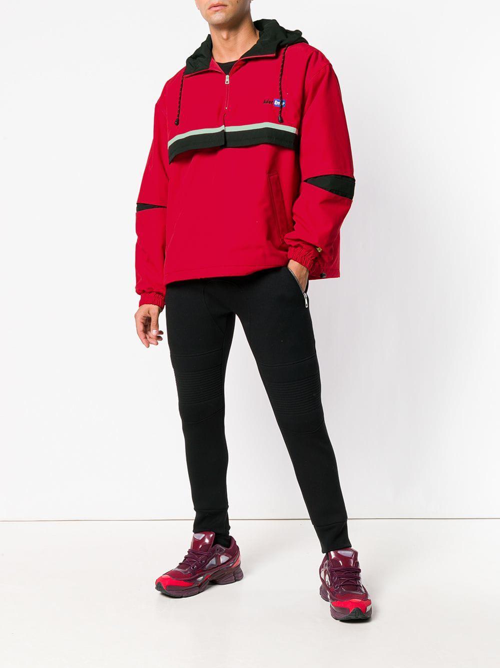 b6ee54081313f Lyst - Veste à capuche oversize Ader Error pour homme en coloris Rouge