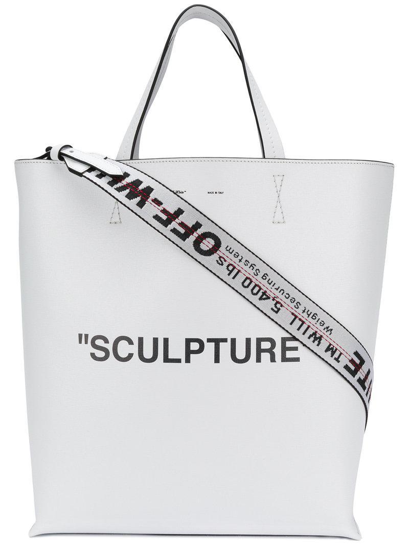 Sculpture Sac Co En Off Abloh Cabas Virgil Blanc Coloris White Lyst qSdE8X