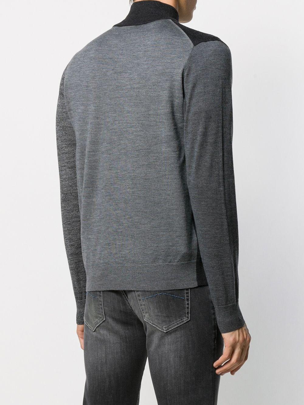 PS by Paul Smith Wol Vest Met Rits in het Grijs voor heren