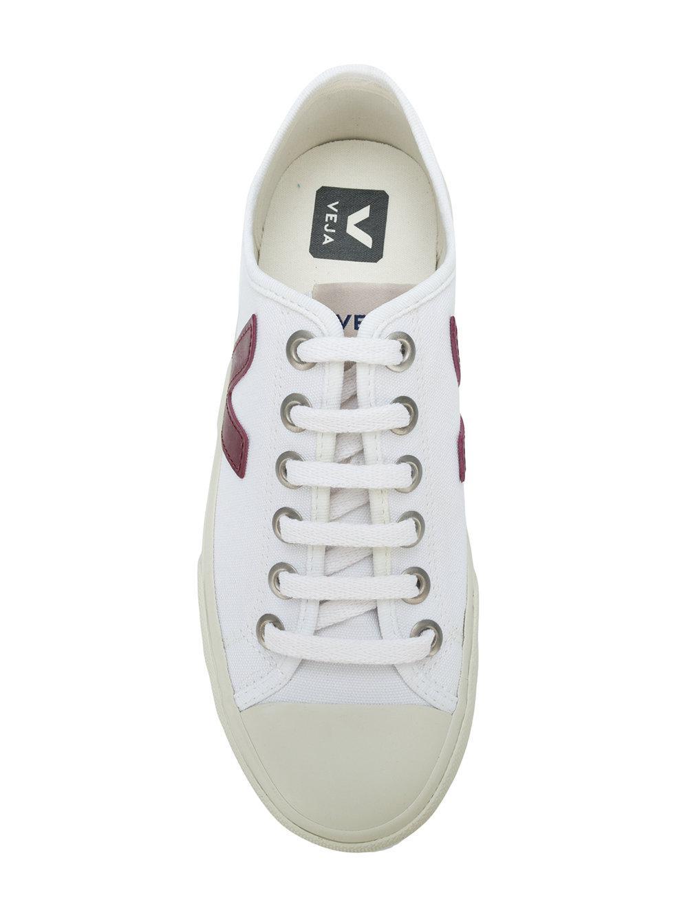 Veja Cotton Wata Sneakers in White