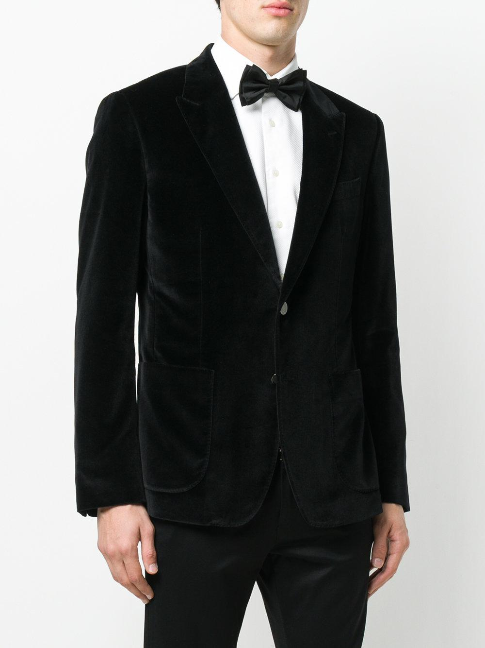 Dolce & Gabbana Velvet Dinner Jacket in Black for Men