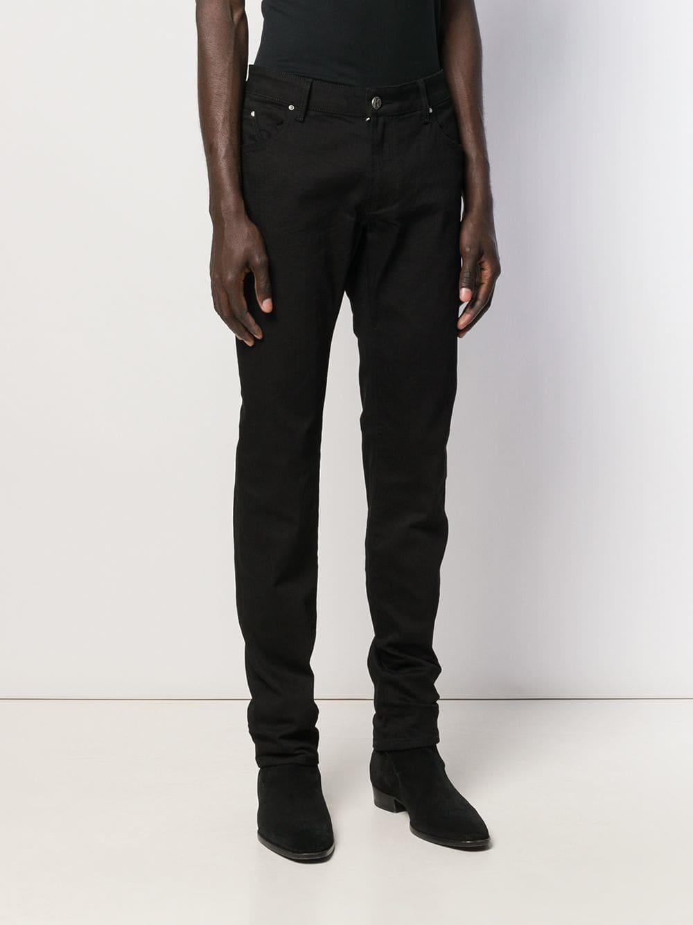Karl Lagerfeld Katoen Low Rise Broek in het Zwart voor heren