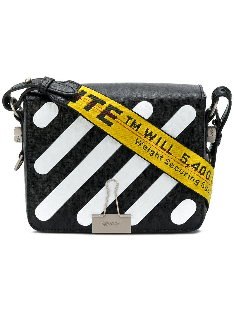 Off-White printed satchel Clearance Discounts Outlet For Nice Super Specials Clearance Best Place 1zrcI5