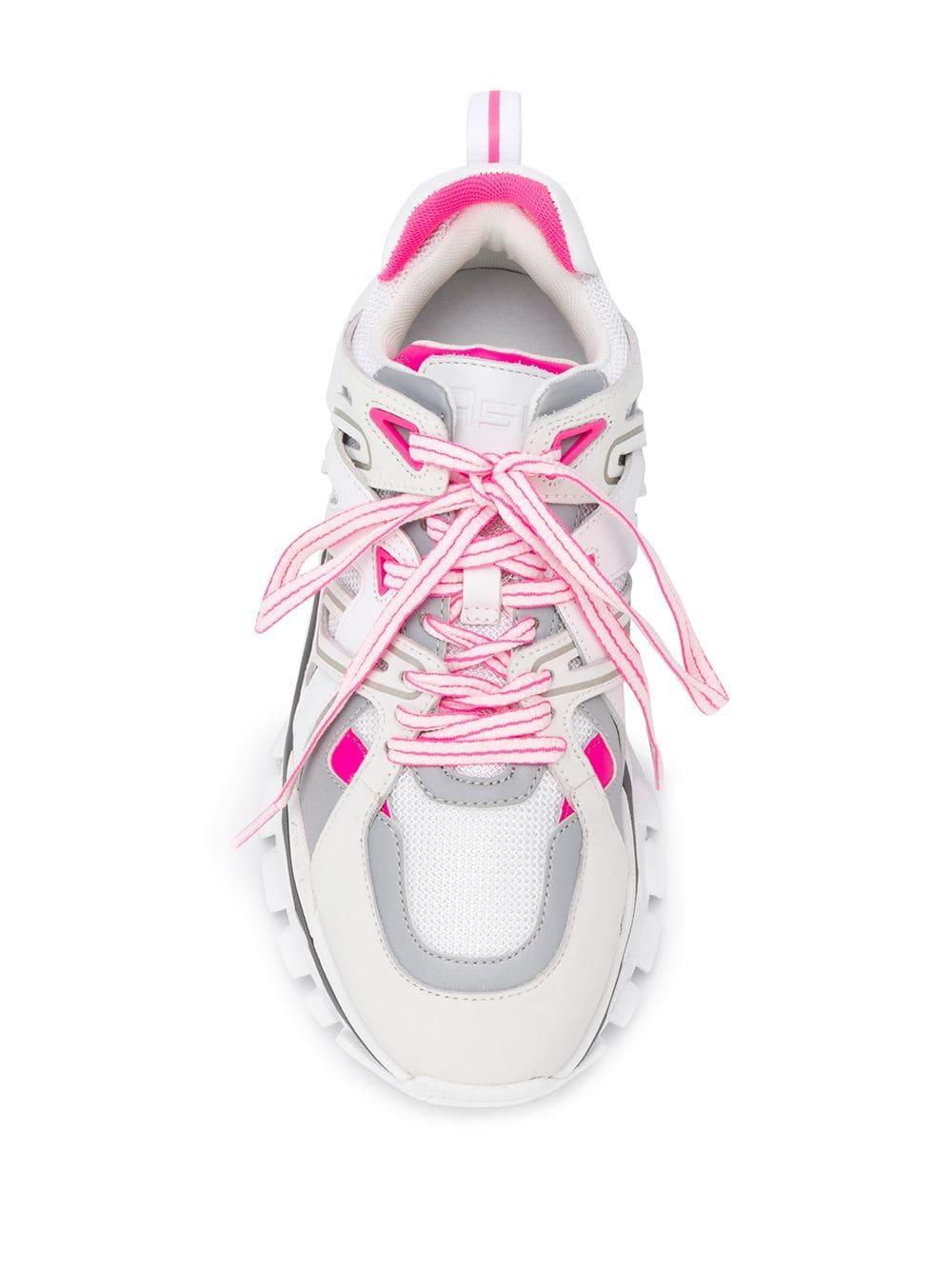 Zapatillas Deportivas de Mujer Ash de Cuero de color Blanco