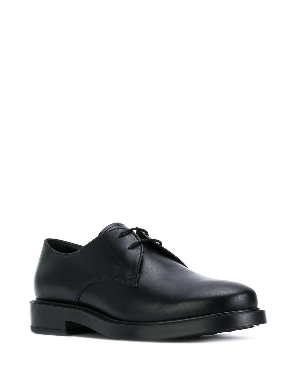 Zapatos clásicos con cordones Tod's de Cuero de color Negro
