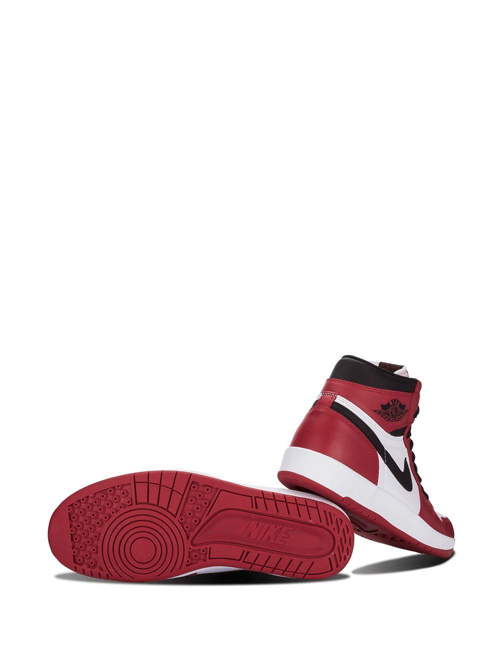Nike Rubber Air 1.5 High The Return Sneakers in het Rood voor heren