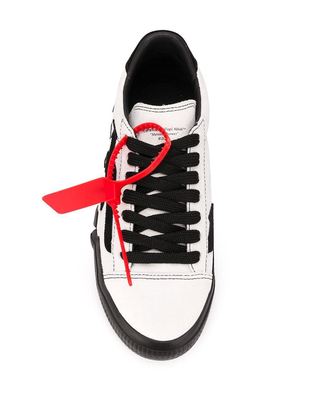 Zapatillas bajas Vulcanized Off-White c/o Virgil Abloh de Caucho de color Blanco