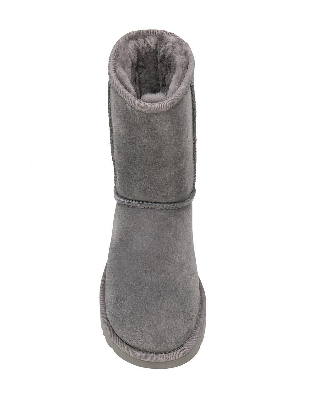 UGG Suede Ankle Boots in Grey (Grey)