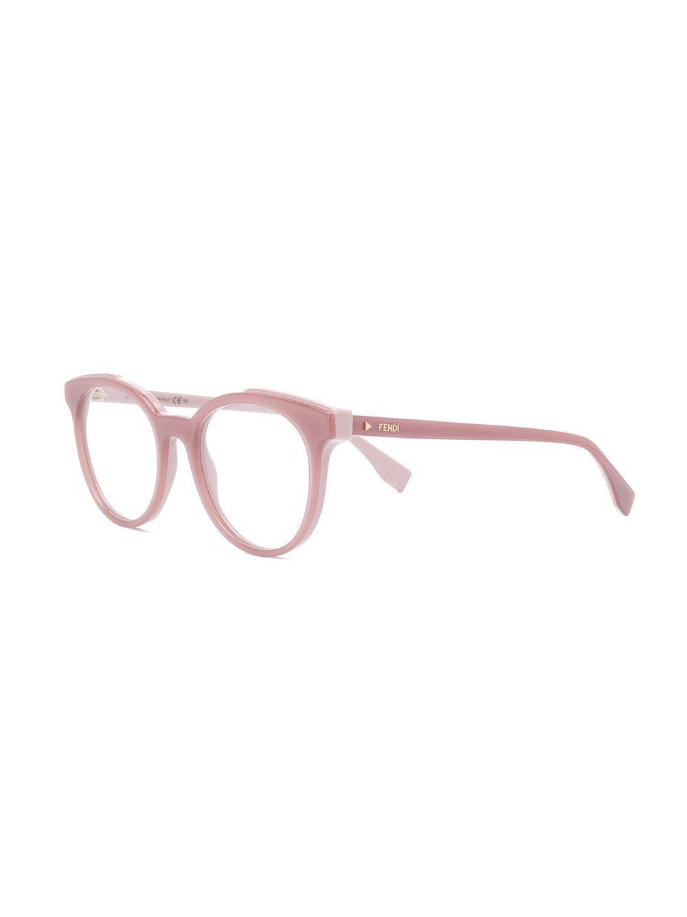 37d3f1172dd0 Lyst - Fendi Cat-eye Shaped Glasses in Pink