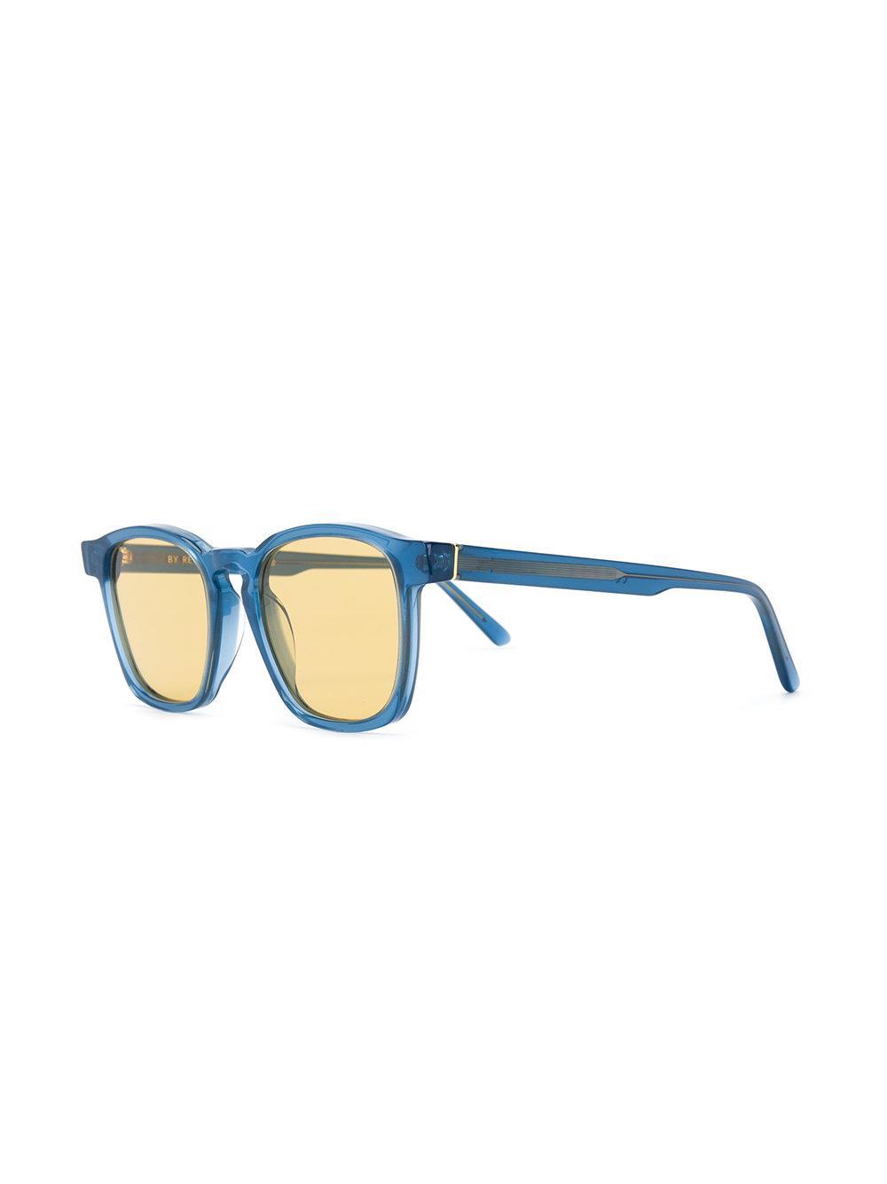 26a671fb8268 Retrosuperfuture - Blue Unico Square Sunglasses - Lyst. View fullscreen