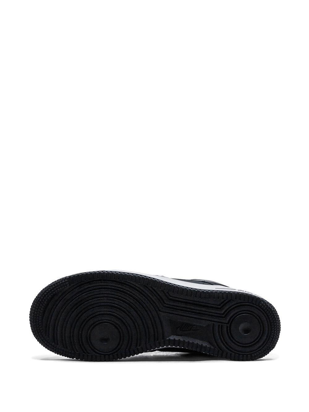 Nike Leer Air Force 1 Sneakers in het Grijs voor heren
