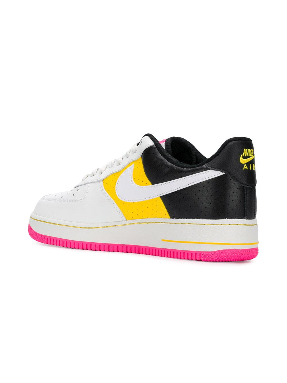 Nike Leather Air Force 1 '07 Se Moto Sneakers in White