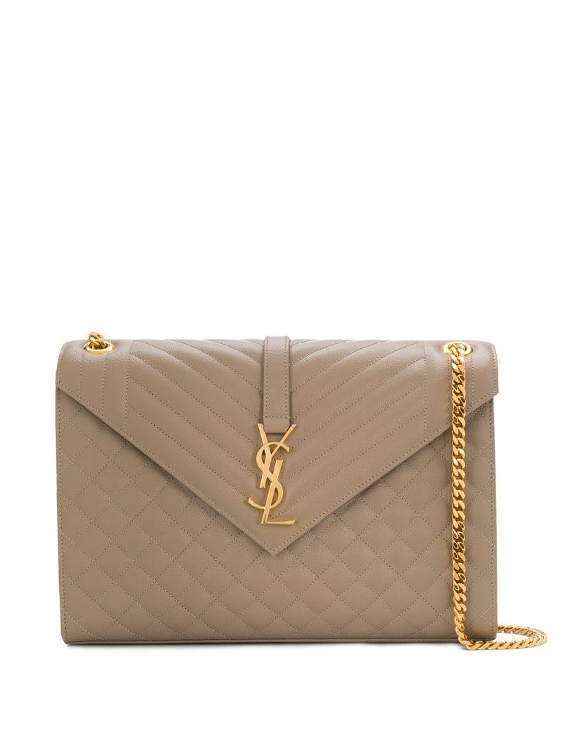 c0a401728ded4 Saint Laurent. Women's Large Monogram Envelope Bag