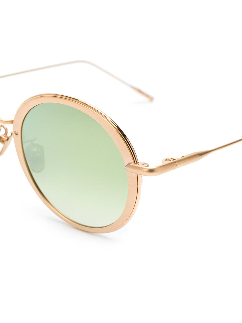 Frency & Mercury Favorite Breakfast Sunglasses in Metallic