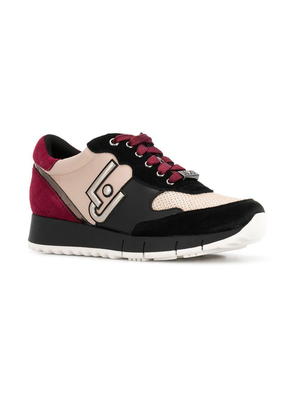 Lyst - Liu Jo Gigi Sneakers in Black 788aa5a0b05