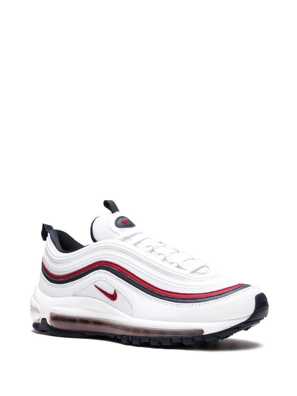 Zapatillas bajas Air Max 97 Nike de Cuero de color Blanco
