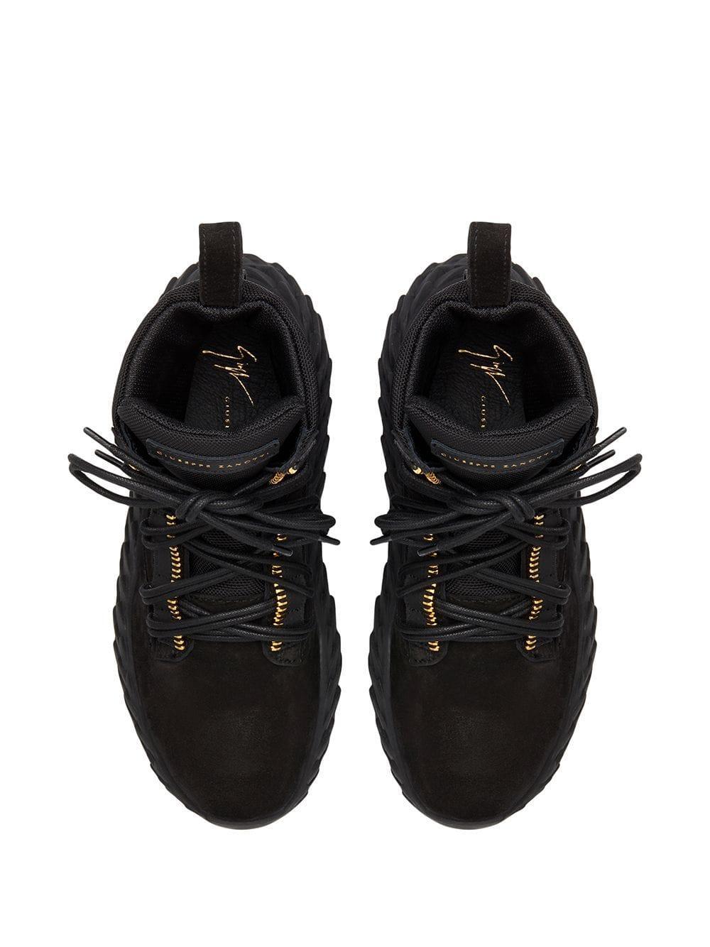 Zapatillas Urchin Giuseppe Zanotti de Ante de color Negro