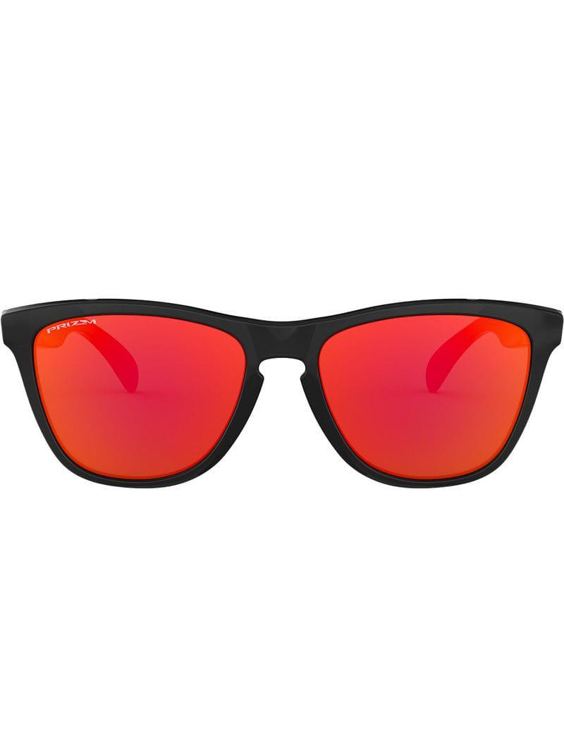 f73cb3e37ab Oakley Frogskins Sunglasses in Black for Men - Lyst