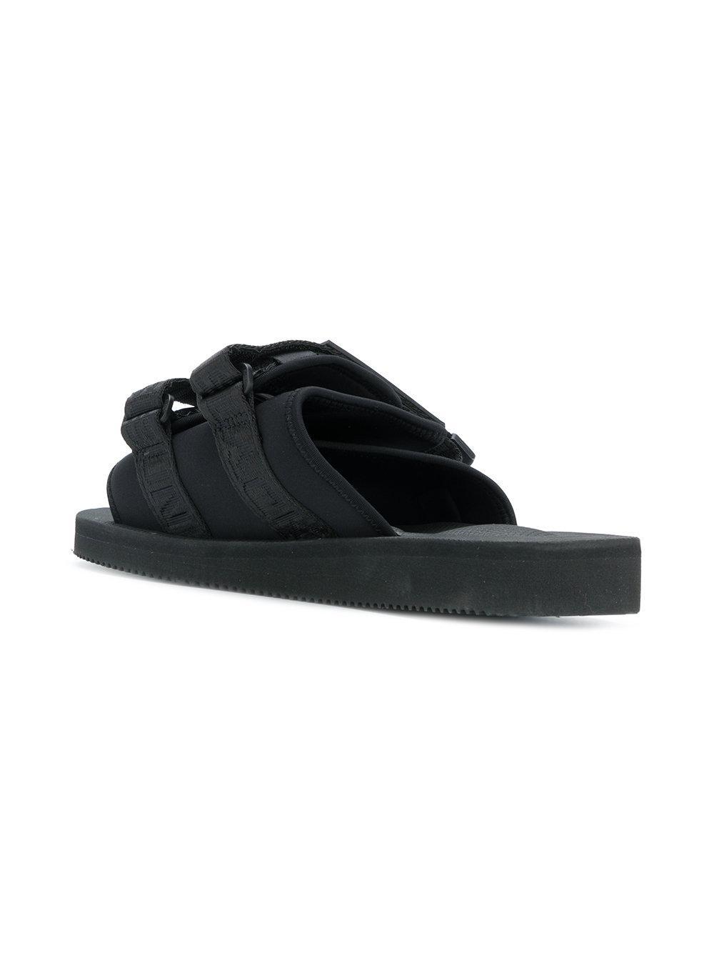 eb30b6f95850 Lyst - Palm Angels Suicoke Slides in Black for Men