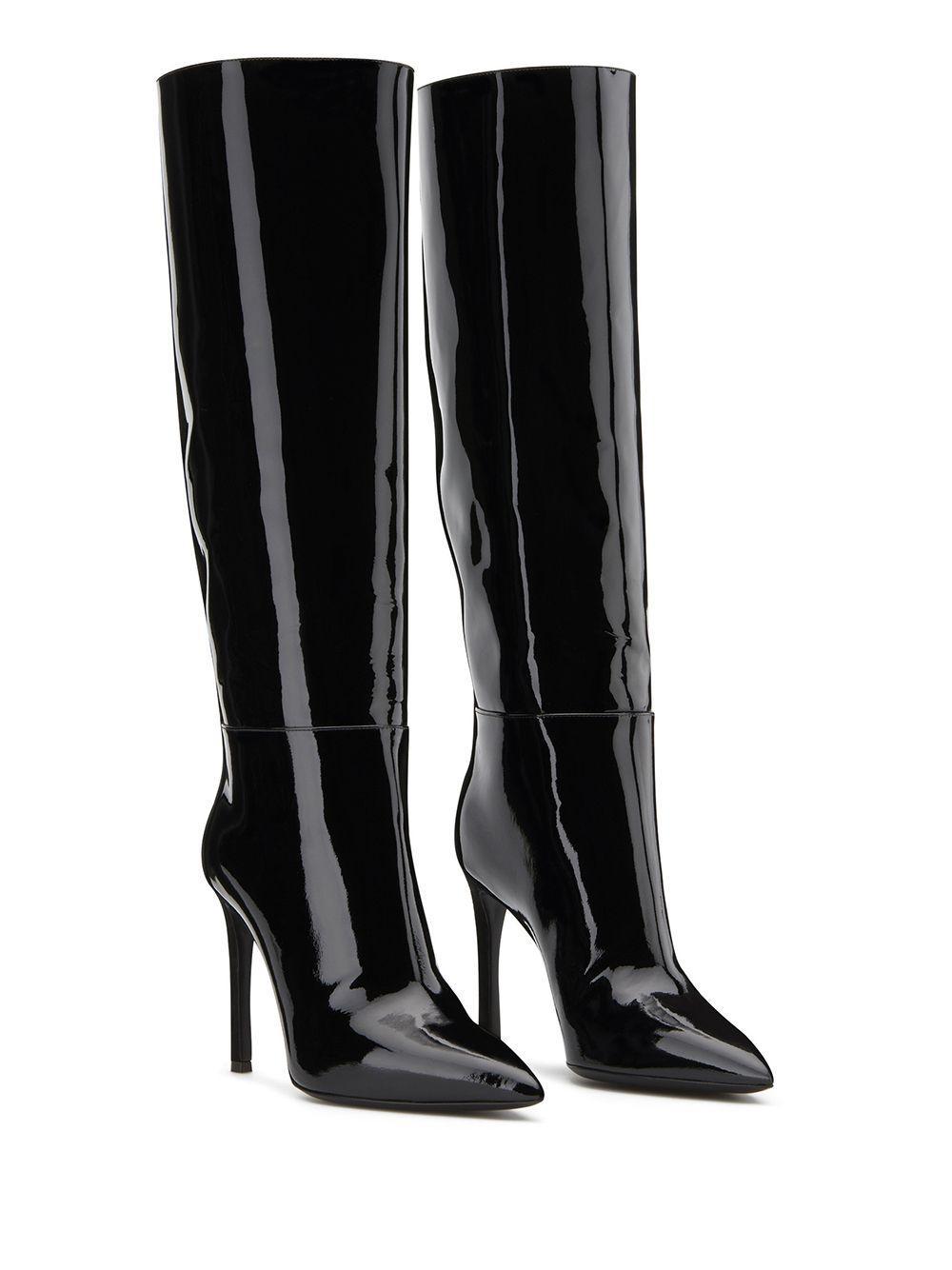Botas altas Giuseppe Zanotti de Cuero de color Negro