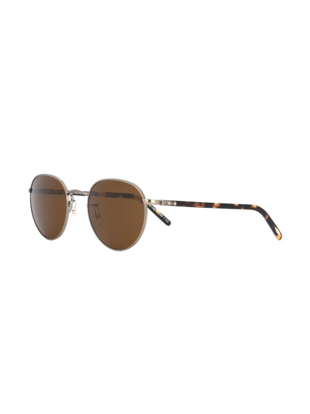 Oliver Peoples 'hassett' Sunglasses in Brown