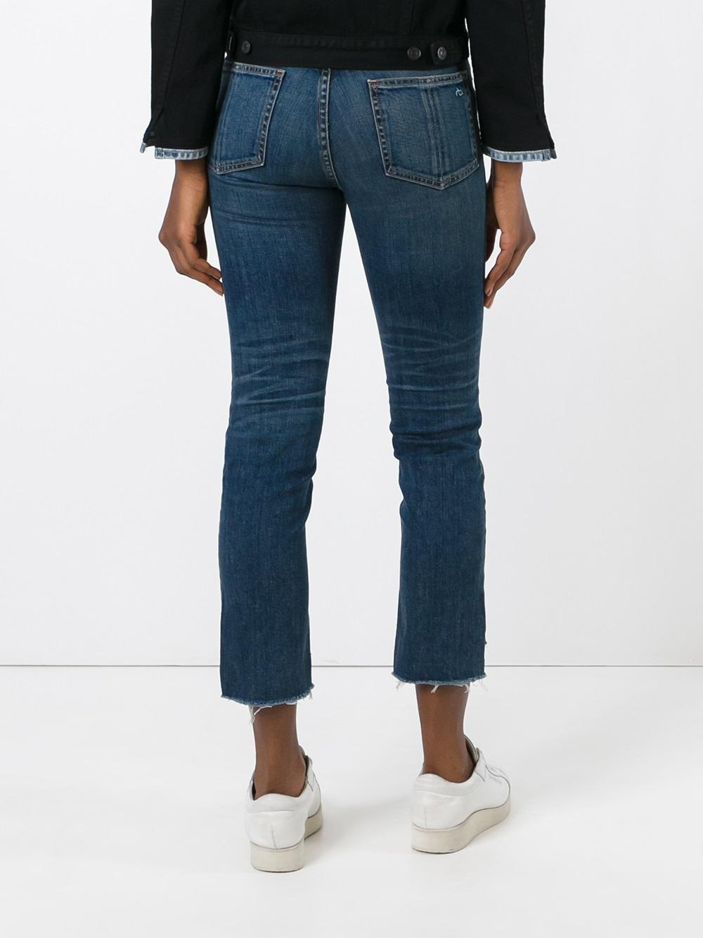 Rag & Bone Denim 'ryan' Jeans in Blue