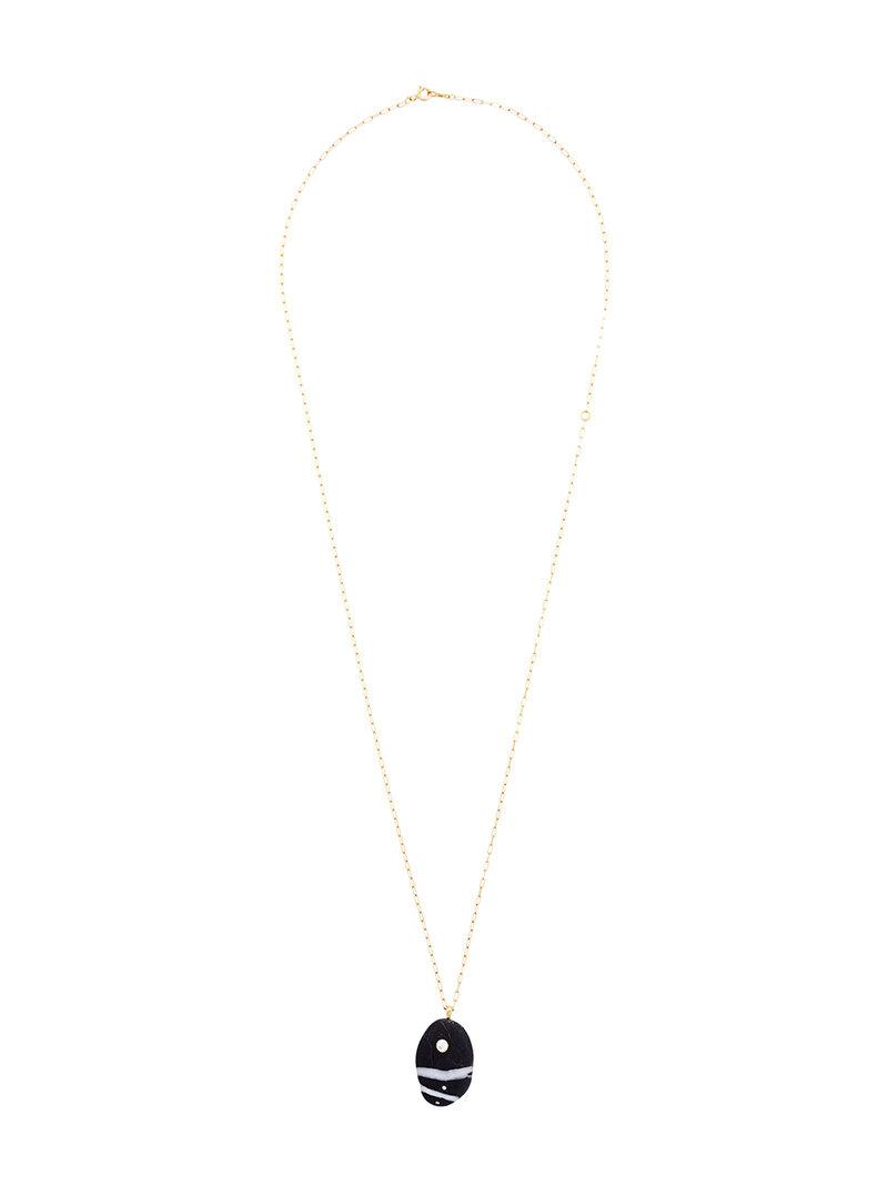 CVC Buenaventura emerald pebble necklace - Metallic bPxv4