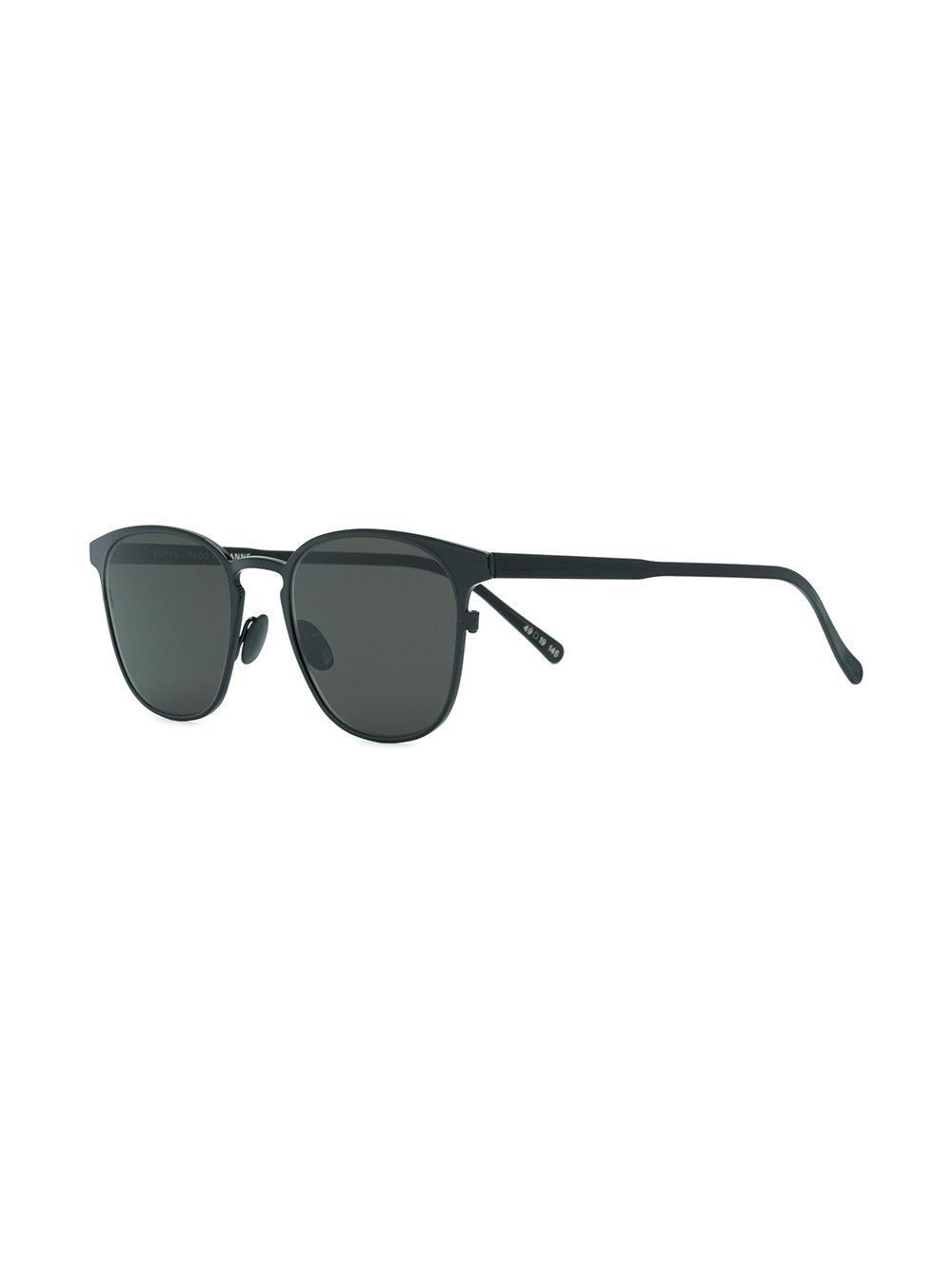 1e097ba1167 Paco Rabanne Square Shape Sunglasses in Black - Lyst