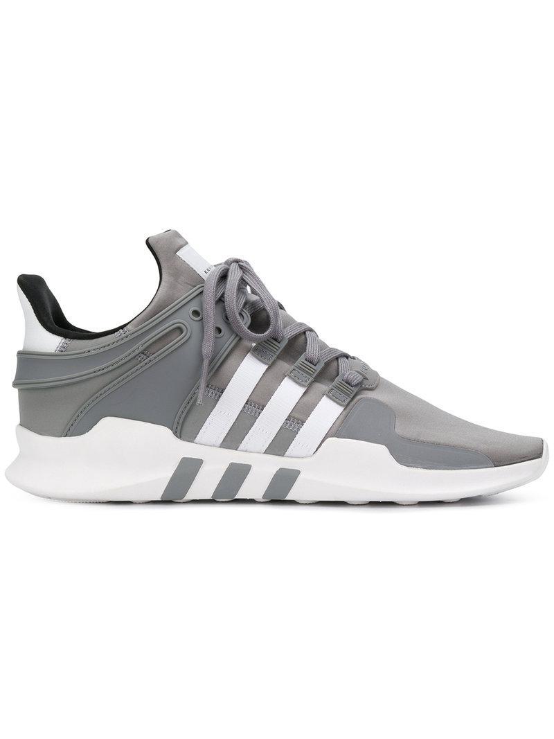 Lyst adidas eqt appoggio avanzata scarpe in grigio per gli uomini.