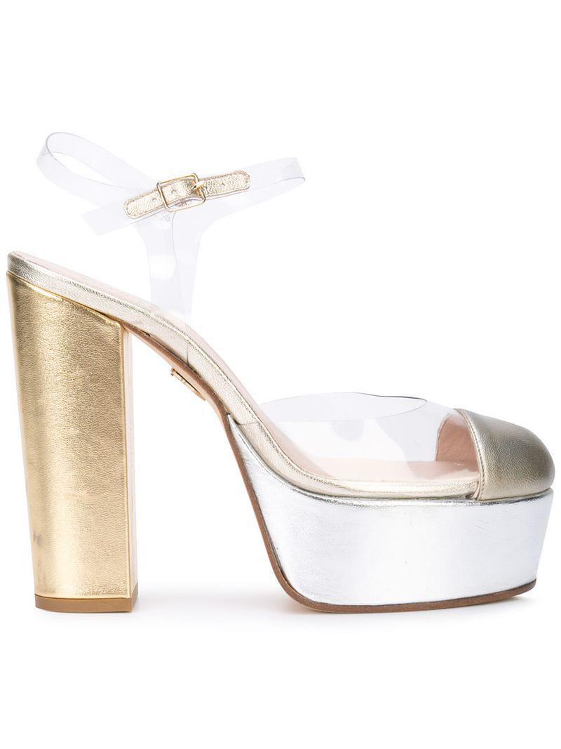 Lyst - Zapatos de tacón Gilda Ritch Erani Nyfc de color Blanco 77beaa5dbc7c