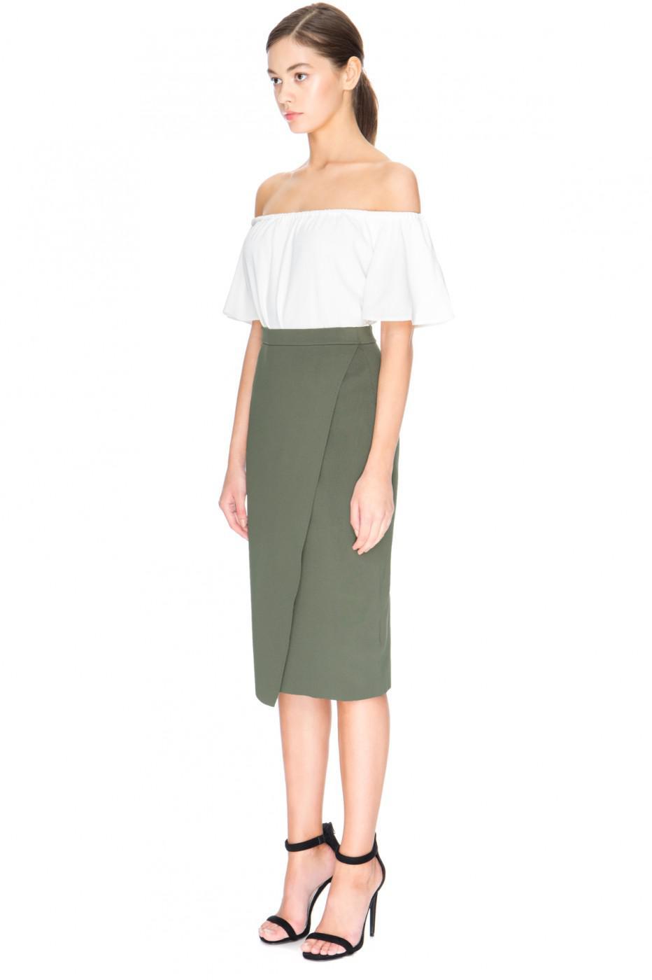 Loft Pull On Pencil Skirt