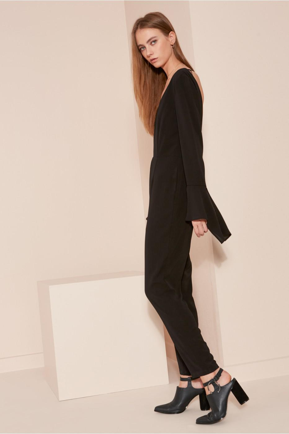 bf1b25900be5 Lyst - The Fifth Label The Homeward Jumpsuit in Black