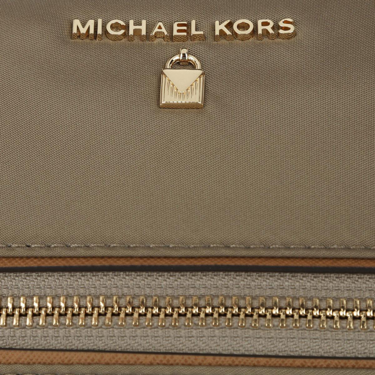 Michael Kors Synthetic Nylon Kelsey Md Tz Tote Dusk in Brown