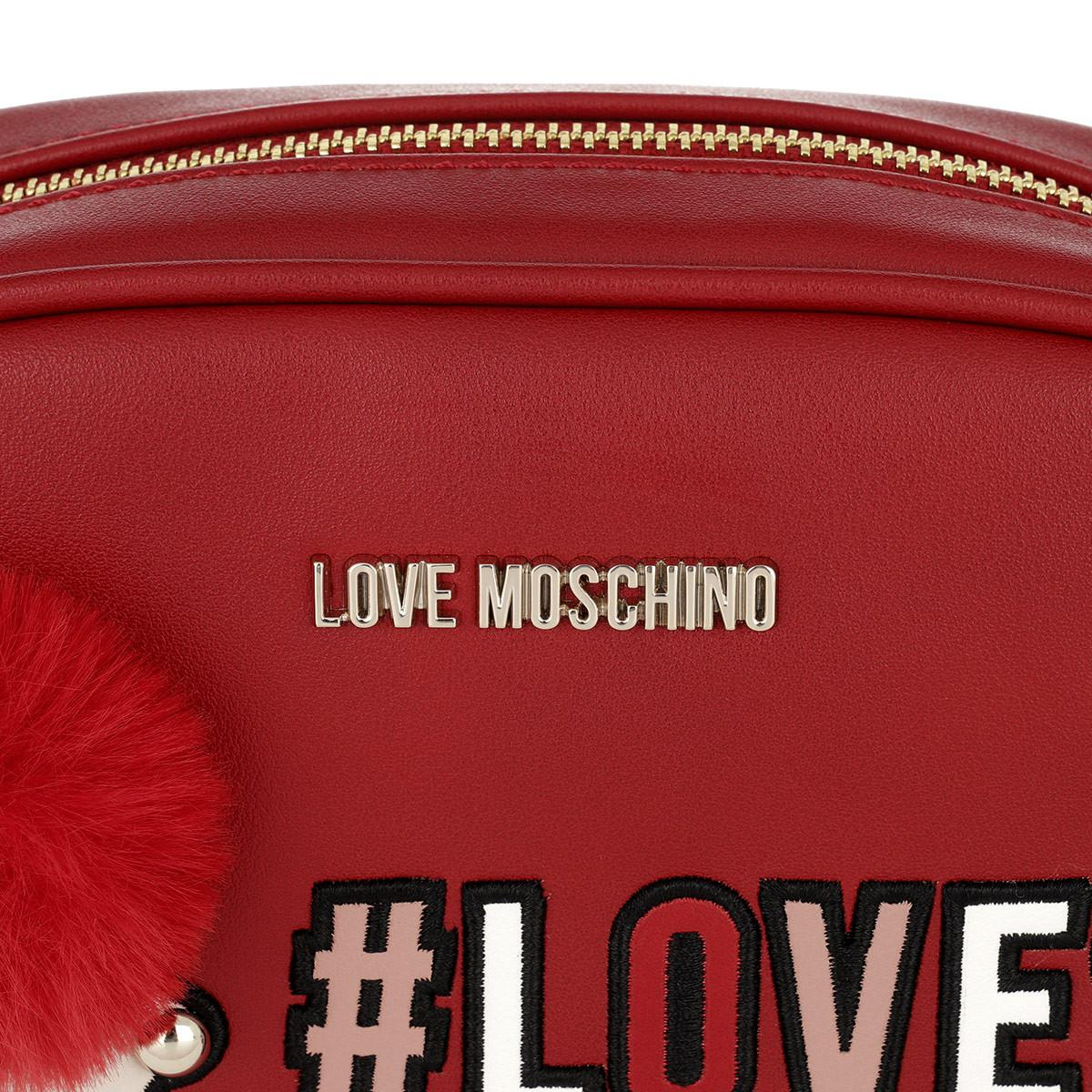 Love Moschino Synthetic Love Crossbody Bag Rosso in Red