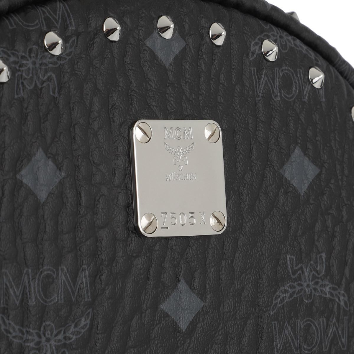 fcdbe9db5acaac MCM Stark Outline Studs Convertible Visetos Backpack in Black - Save 19% -  Lyst
