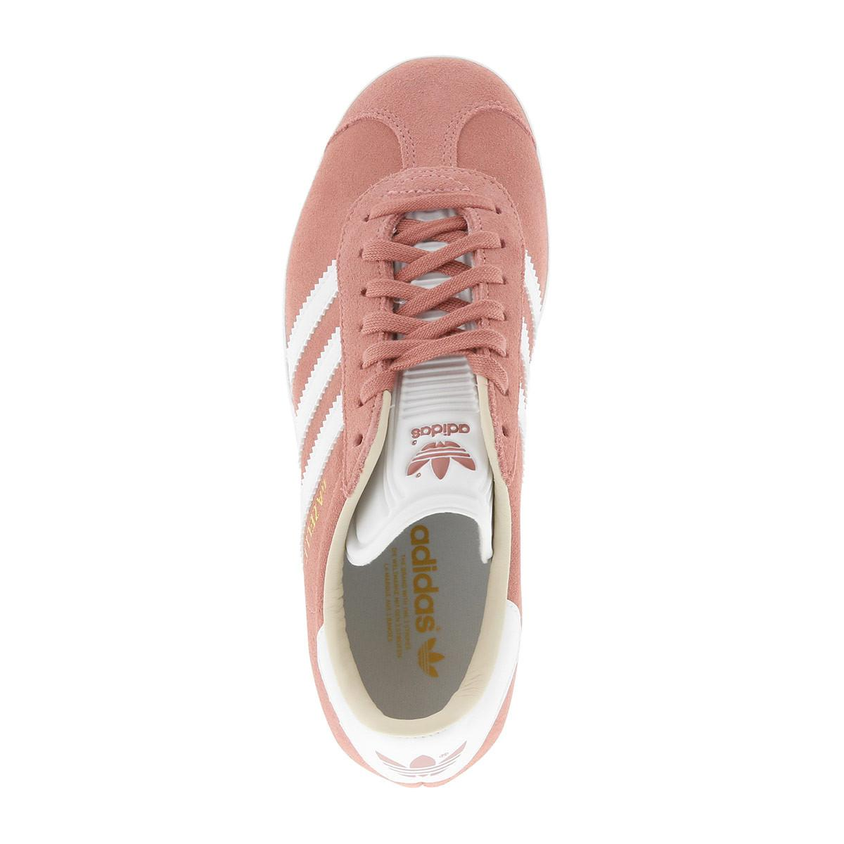 adidas Originals Gazelle W Sneaker Ashpeaftwwhtlinen for