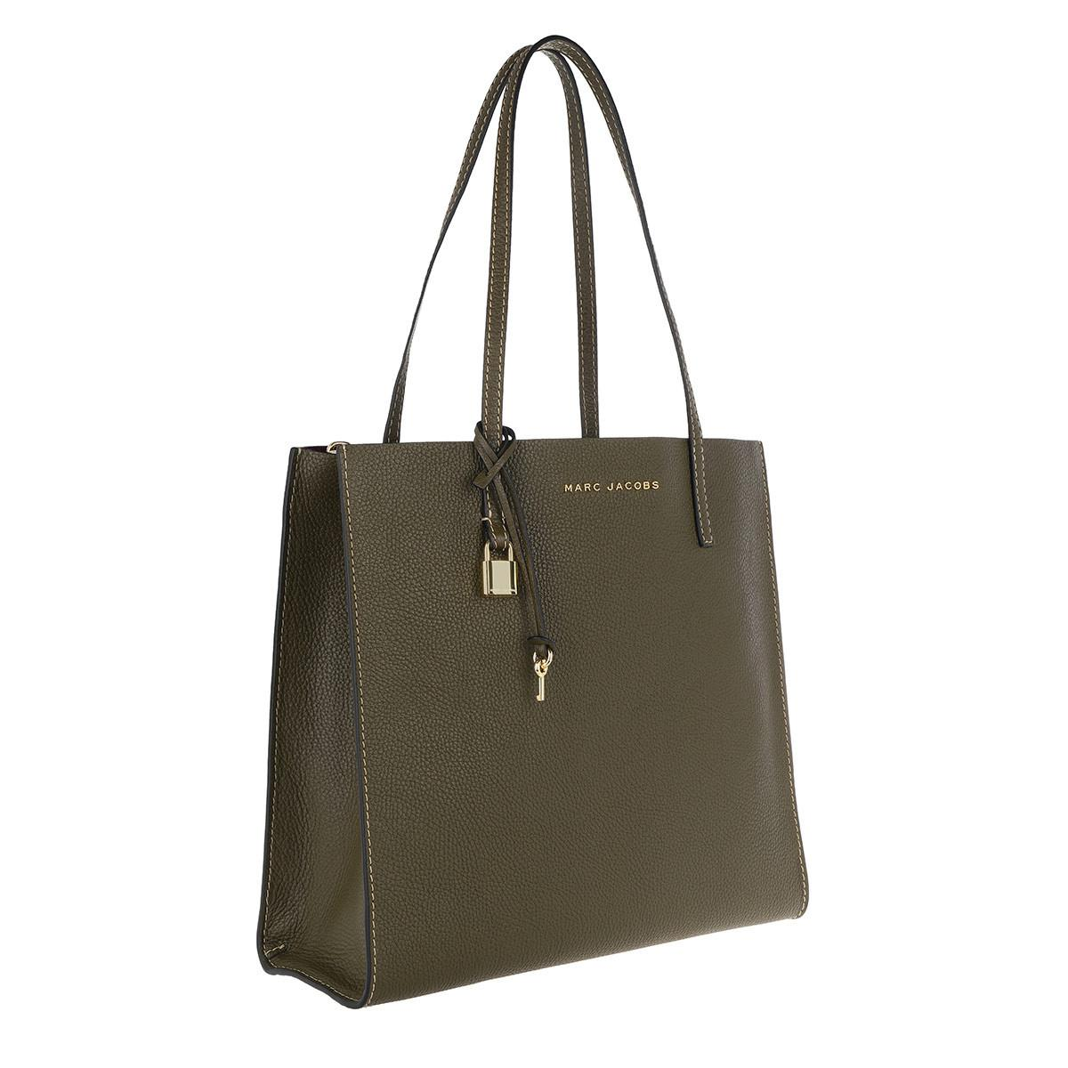 Marc Jacobs Leather The Grind Shopper Tote Bag Lichen in Green