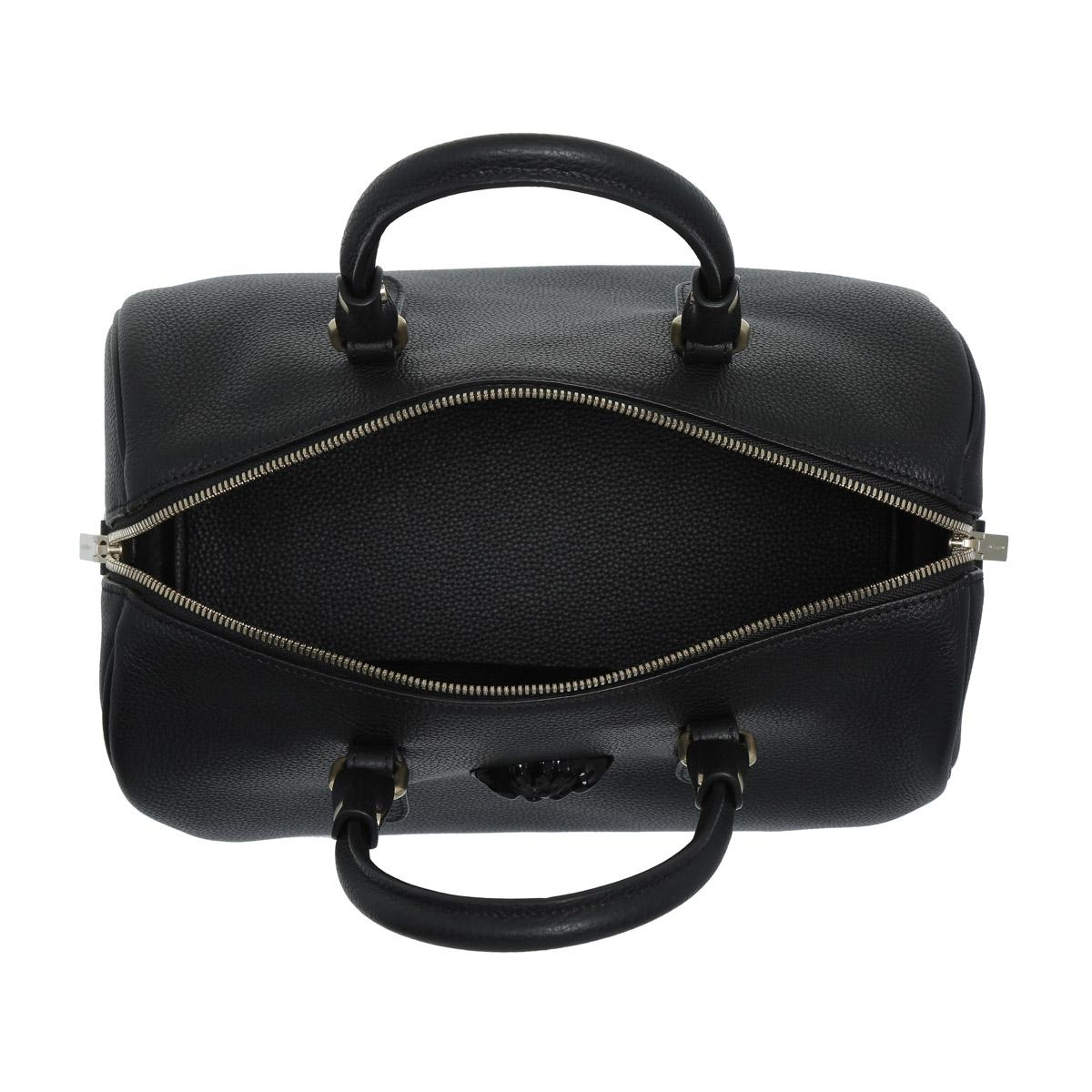 cb1511d6a408 Versace Medusa Bowling Bag Black in Black - Lyst