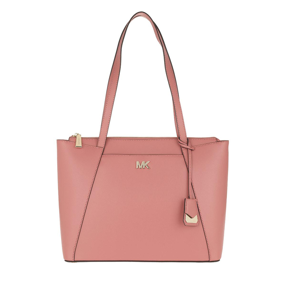 0e773f678c4eec Michael Kors Maddie Md Ew Tz Tote Rose in Pink - Lyst