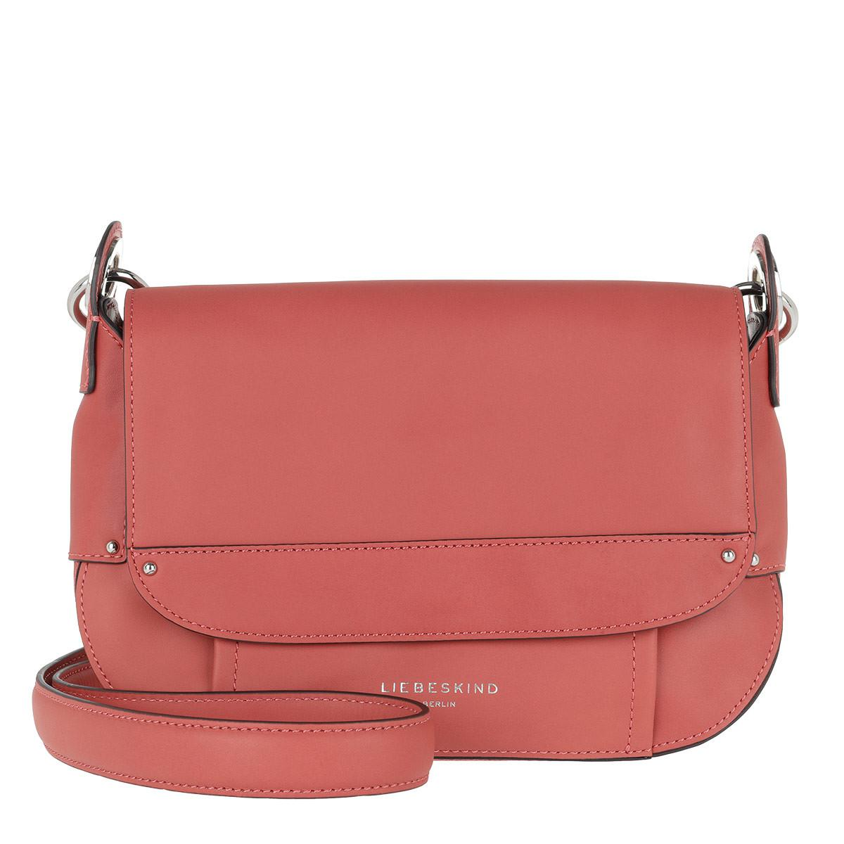 bbff9c6a6 Liebeskind Berlin Lima Gromme Crossbody Bag Coral Pink in Pink - Lyst