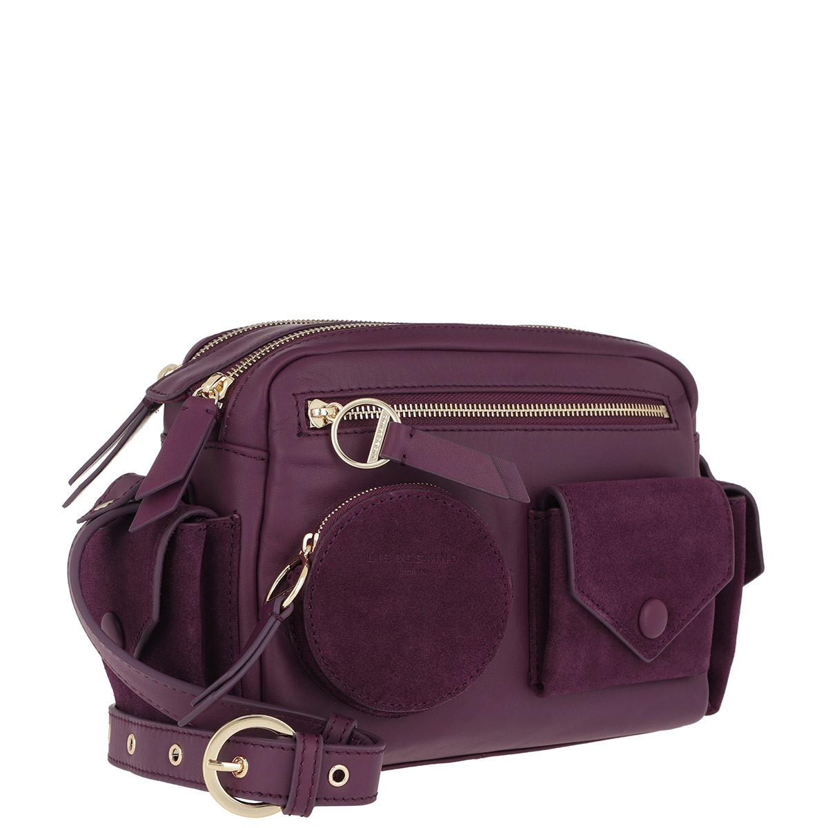 Liebeskind Berlin Leather Casual Pocket Camera Bag Medium