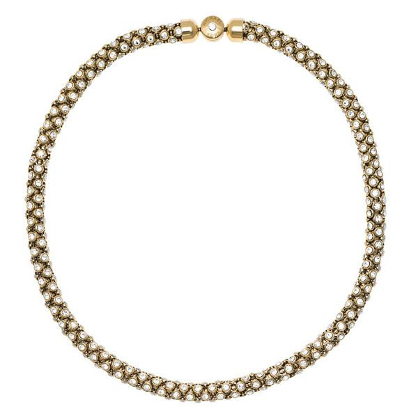 Michael Kors Park Avenue Necklace Gold in Metallic